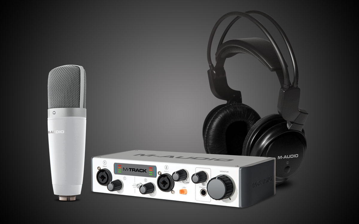 M Audio Acclaimed Audio Interfaces Studio Monitors And